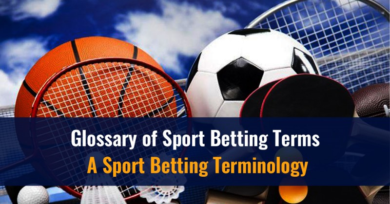 Glossary of Sport Betting Terms