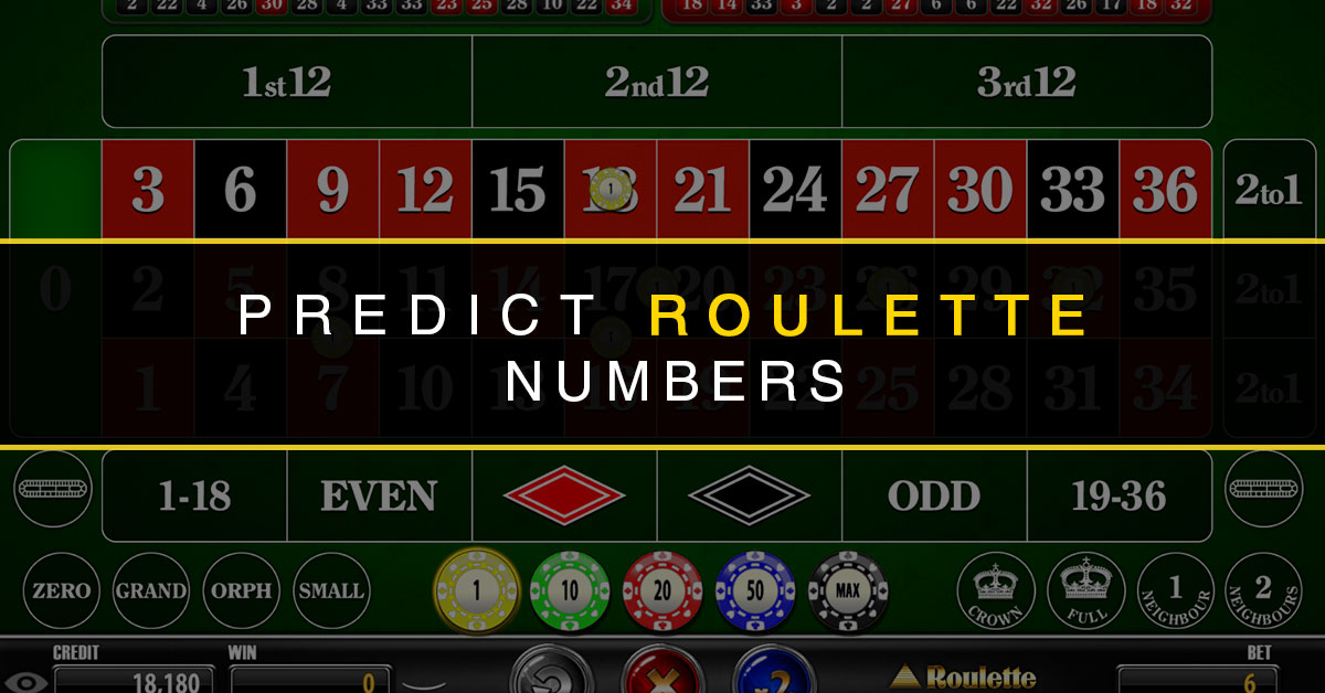 How to calculate predict roulette ball drop site casino en ligne fiable