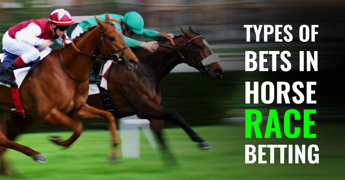 types of bets in horse race betting
