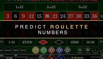 How To Predict Roulette Numbers Visually – Roulette Game Tips
